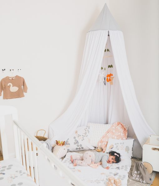 play kids canopy nogili white
